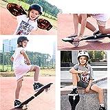 MJY Skateboard 34 'X 8' Caster Board2 Rad Radical Intensive Acceleration Waveboard , Tragbares leichtes Skateboard mit 360-Grad-Caster Trucks und rutschfester konkaver Plattform für Kinder ab 8 Jahre - 3