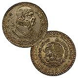 Mo - Mexico City Mexico's Last Silver Coin Un Peso 1957-1967 One 1 Peso Extra Fine