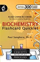Biochemistry Flashcard Quicklet: Flash Cards in a Book for Biochemistry Students by Paul Sanghera (2008-11-06)