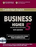Cambridge ESOL: Cambridge English Business 5 Higher Self-stu