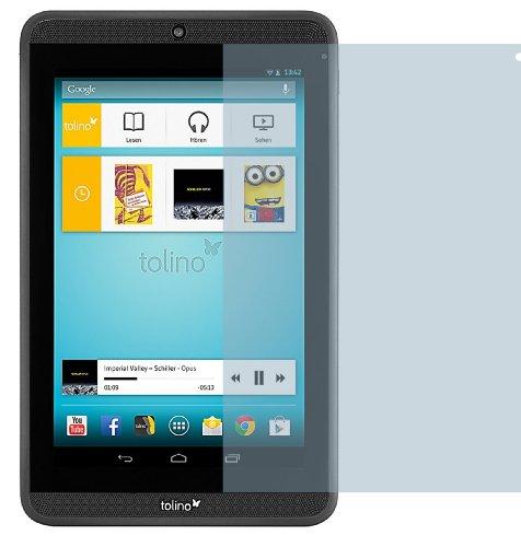 4ProTec I 2X Tolino Tab 7 ENTSPIEGELNDE Displayschutzfolie Bildschirmschutzfolie von - Nahezu blendfreie Antireflexfolie