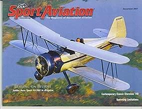 SPORT AVIATION (EAA'S MONTHLY MEMBERSHIP MAGAZINE) December 2001