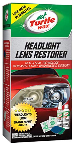 Our #3 Pick is the Turtle Wax Headlight Lens Restorer