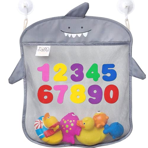 JoJo Kids shark bath toy organizer