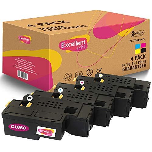 Excellent Print C1660 Compatible Toner cartridge for Dell C1660 C1660W C1660CN C1660CNW