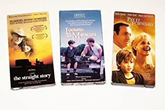 Videos of Inspiration Collection: The Straight Story; Pay It Forward; Looking for Miracles (3 Pk)