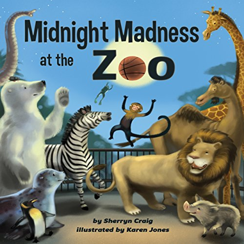 Midnight Madness at the Zoo audiobook cover art