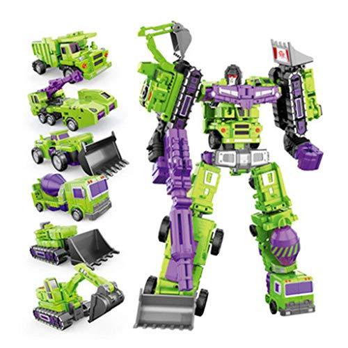 zqq Juguetes Robot De Deformación Magnética De Dinosaurio De Gran Tamaño King Kong Children Educational Boy