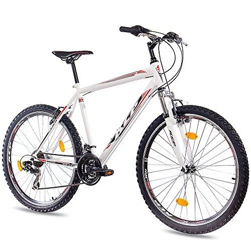 26' aduana bicicleta de montaña bicicleta MTB KCP ONE UNISEX de 21 de marcha blanca