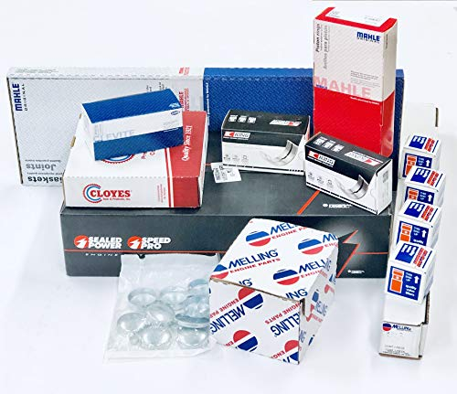 MASTER Engine Kit compatible with Ford Trucks 5.8 351W Windsor 1988 89 90 91 92 93 (ALL STD Sizes)