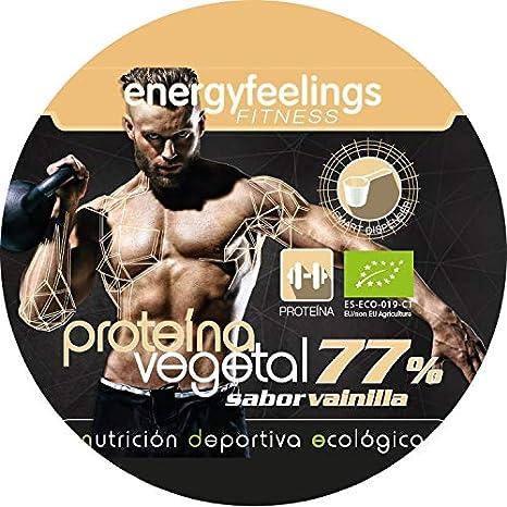 Energy Feelings Proteina Vegana 77% Premium sabor vainilla ...
