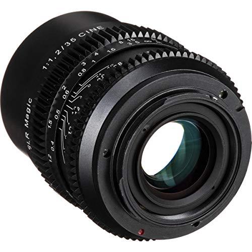 SLR Magic Cine 35mm F/1.2 Lens for Sony E-Mount