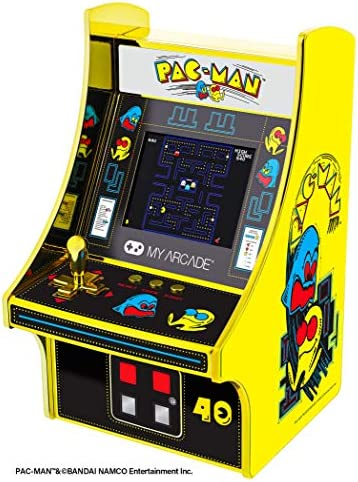 My Arcade Pac Man 40th Anniversary Micro Player Fully Playable 6 75 Inch Collectible Full Color product image