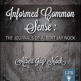 Informed Common Sense audiobook cover art