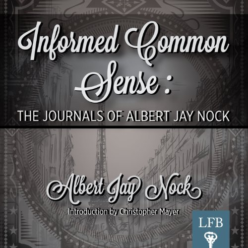 Informed Common Sense audiobook cover art