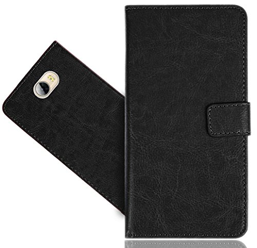 FoneExpert® Huawei Y6 II Compact / Huawei Y5 II Handy Tasche, Wallet Hülle Flip Cover Hüllen Etui Hülle Premium Ledertasche Lederhülle Schutzhülle Für Huawei Y6 II Compact / Huawei Y5 II