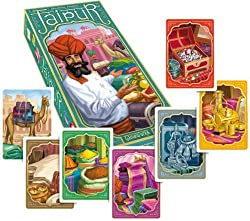 "Jaipur board game -- Best ""Selling"" Game - where players play merchants and try to earn greater profits"