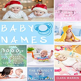 Baby Names audiobook cover art