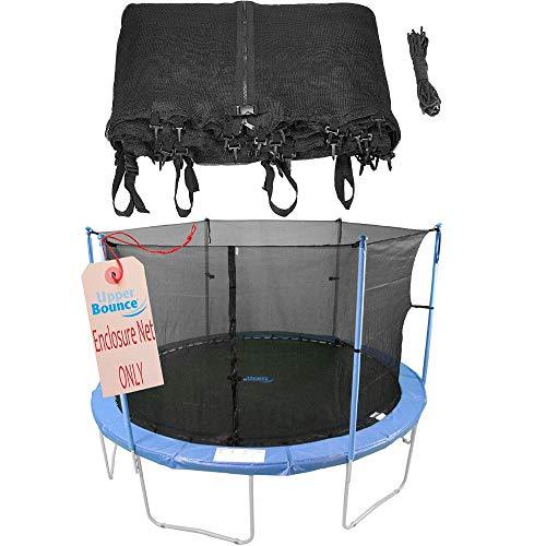 Upper Bounce - Rete di Sicurezza e Protezione di Ricambio Modello Interno Bordo per Trampolino Rotondo 3.05 m - 6 Poli o 3 Archi (Poli Non Inclusi)