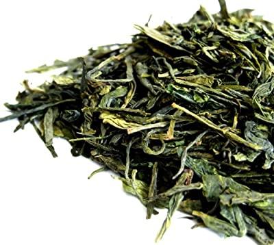 Organic–Dragon Well Long Jing (poumon jing)–Pressed Leaf thé vert