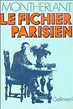 Le Fichier parisien - Editions Gallimard - 06/03/1974