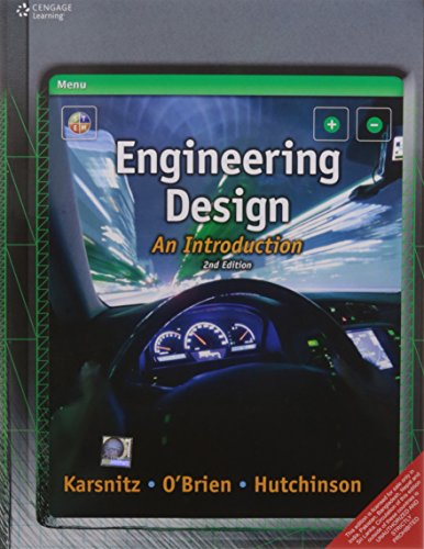Engineering Design An Introduction 2 Ed