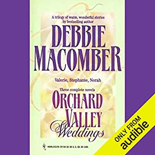 Orchard Valley Weddings audiobook cover art
