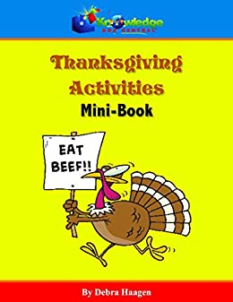Thanksgiving Activity Mini-Book by [Debra Haagen]