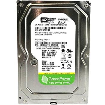 WESTERN DIGITAL WD5000AUDX AV-GP Green 500GB 32MB cache SATA 6.0Gb/s 3.5 internal hard drive  Bare Drive