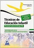 Técnicos en Educación Infantil. Personal laboral (Grupo III) de la Administración de la Comunidad Autónoma de Extremadura. Temario específico Volumen I