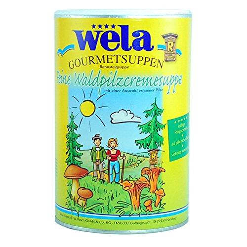 Feine Waldpilzcremesuppe Gourmet - wela