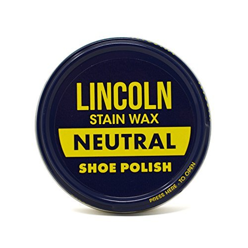 Lincoln Stain Wax Shoe Polish, Neutral