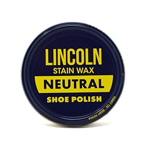 Lincoln Stain Wax Shoe Polish, Neutral