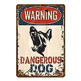 muzi928 Peligro de Advertencia Carteles de Metal Cuidado con el Perro...