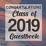 Congratulations Class of 2019 Guestbook: Violin Musician Graduation Party Guest Sign In Book Registry|Graduate Parties Supplies|Senior Keepsake ... Address|University College High School