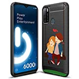 Fashionury Rugged Armor Designer Rubberized Printed Back Cover for Tecno Spark Power 2 for Girls and Boys (Multicolour) -HB124