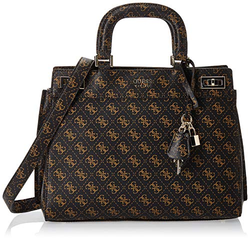 Sacoches Femme Guess Gwen Turnlock Satchel Taille Unique