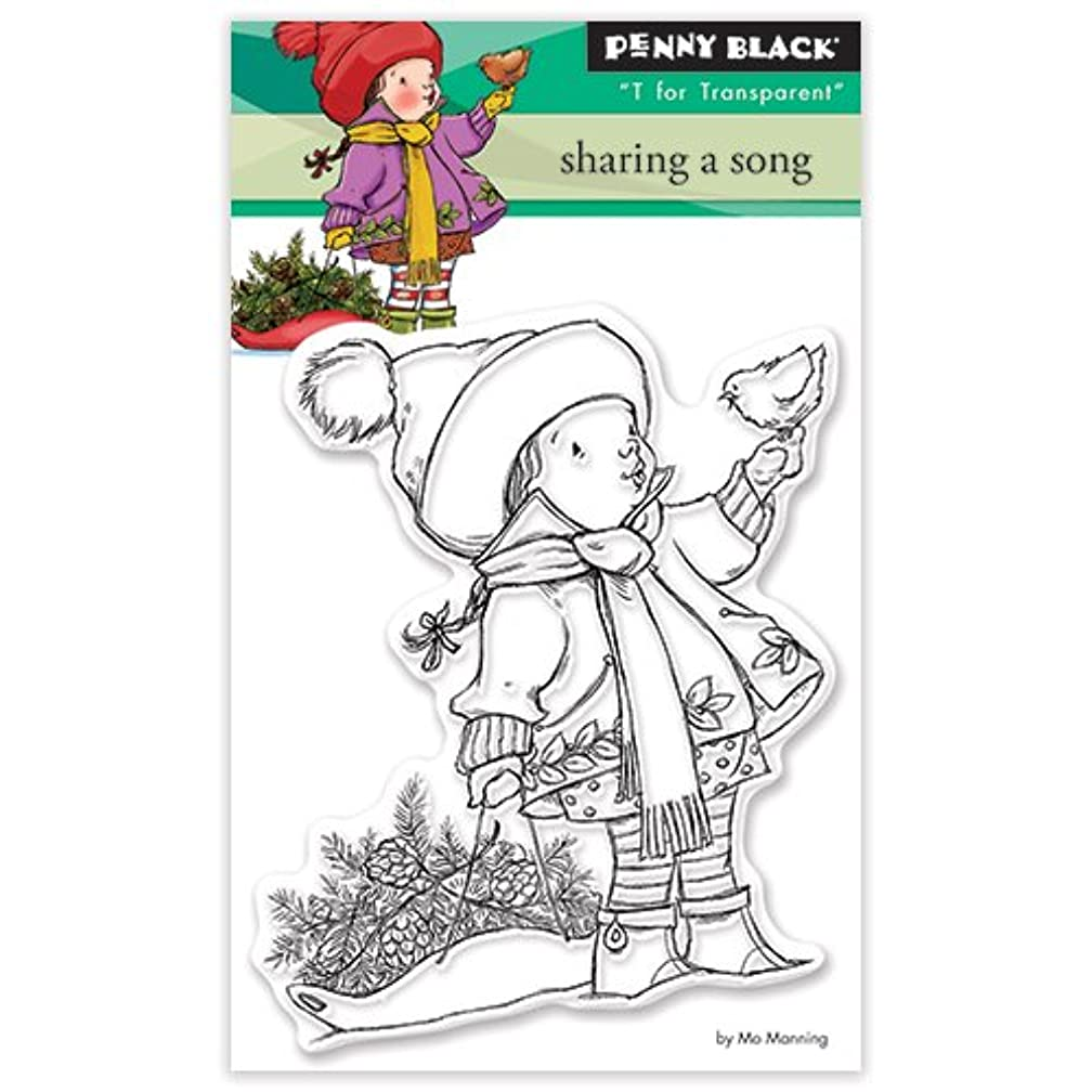 Penny Black Clear Stamp Set, 30-389,Sharing a Song