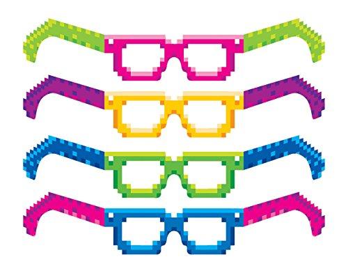 Gafas 8 Bits  marca Beistle