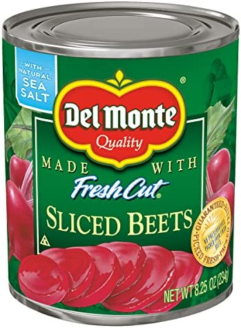 Del Monte Canned Sliced Beets 8 25 Ounce Pack of 12 product image