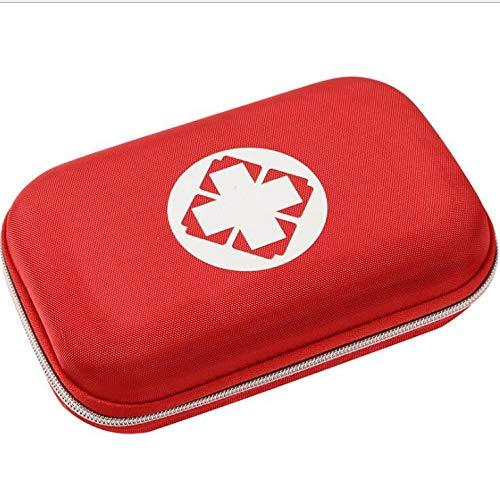 Liuer 3PCS Botiquín de Primeros Auxilios Pequeño para el Coche Hogar Camping Caza Viajes Aire Libre o Deportes Botiquín de Primeros Auxilios Survival Tools Mini Box Kit Bolsa Médica(Paquete Vacio)