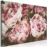 decomonkey Bilder Blumen 120x80 cm 1 Teilig Leinwandbilder