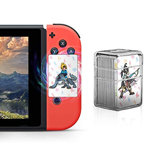 Zelda-Karte, 24 NFC-Karten für The Legend of Zelda Breath of The Wild Botw Switch Wii U