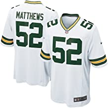 Clay Matthews Jersey: Green Bay Packers #52 Game White NFL Jersey