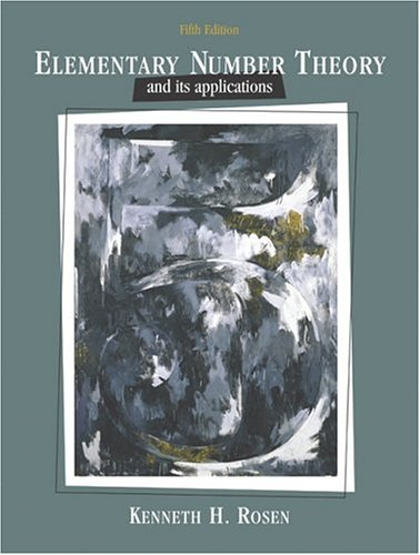 Elementary Number Theory (5th Edition)