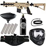 Action Village Tippmann Epic Paintball Gun Package Kit (US Army Project Salvo) (Tan)