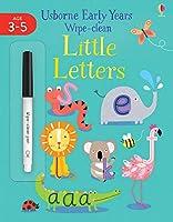 Little Letters (Usborne Early Years Wipe-Clean)