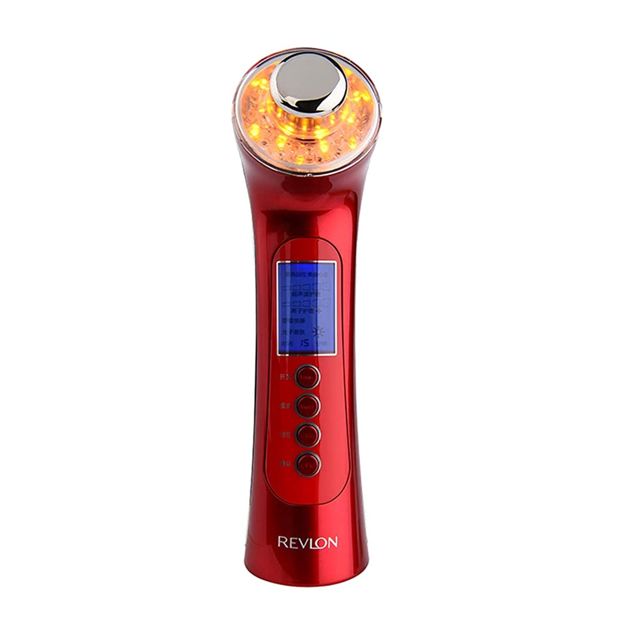 弱めるハプニング地図肌を引き締め機、5に1で5洗顔マッサージマッサージマッサージャーで3色ライトディープクレンジングアンチエイジング多機能振動美容機器