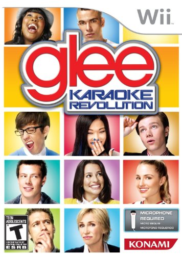 Karaoke Revolution Glee-Software Only - Nintendo Wii