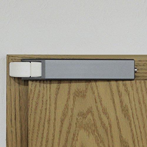 Komforttürschließer mit SoftClose und weißer und grauer Abdeckung Türschließer Zimmertürschließer von SO-TOOLs